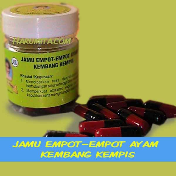 Jamu Empot-Empot Ayam Kembang Kempis