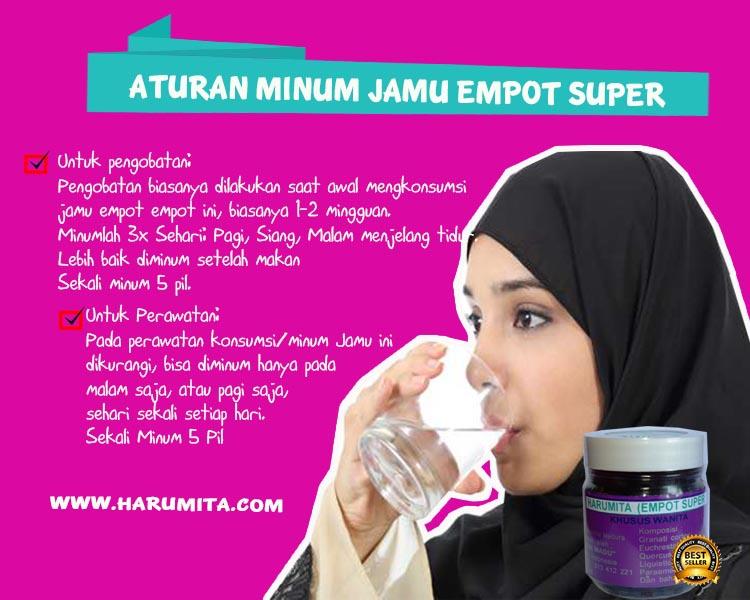 Jamu Empot Super di Palembang