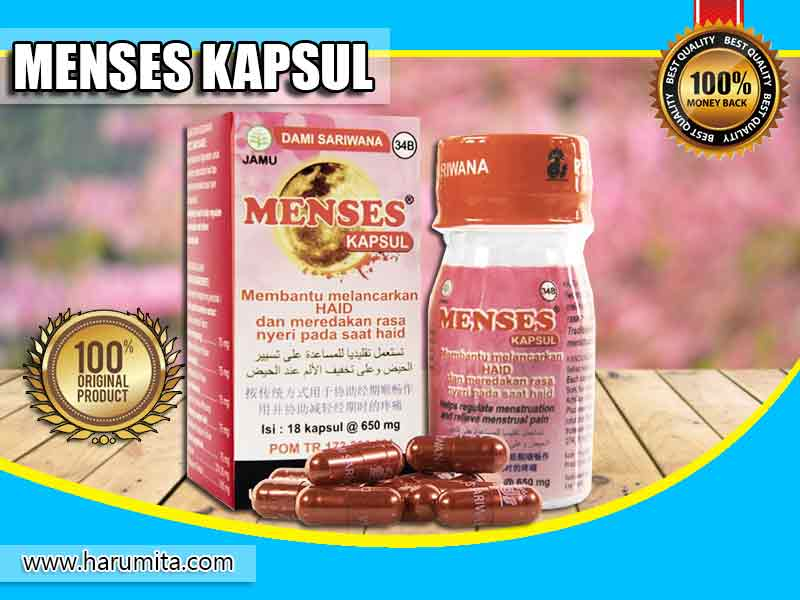 Review Testimoni Dan Manfaat Menses Kapsul