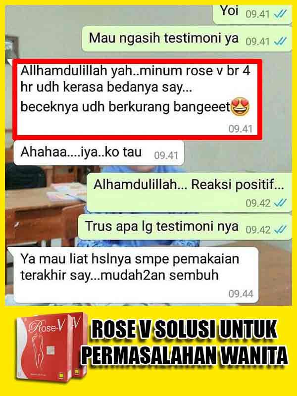 PROMO Rose V Minuman Perapat Miss V di Aceh Besar
