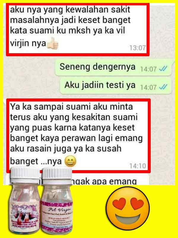 PROMO Obat Perapat Vagina Pil Virgin di Halmahera Utara